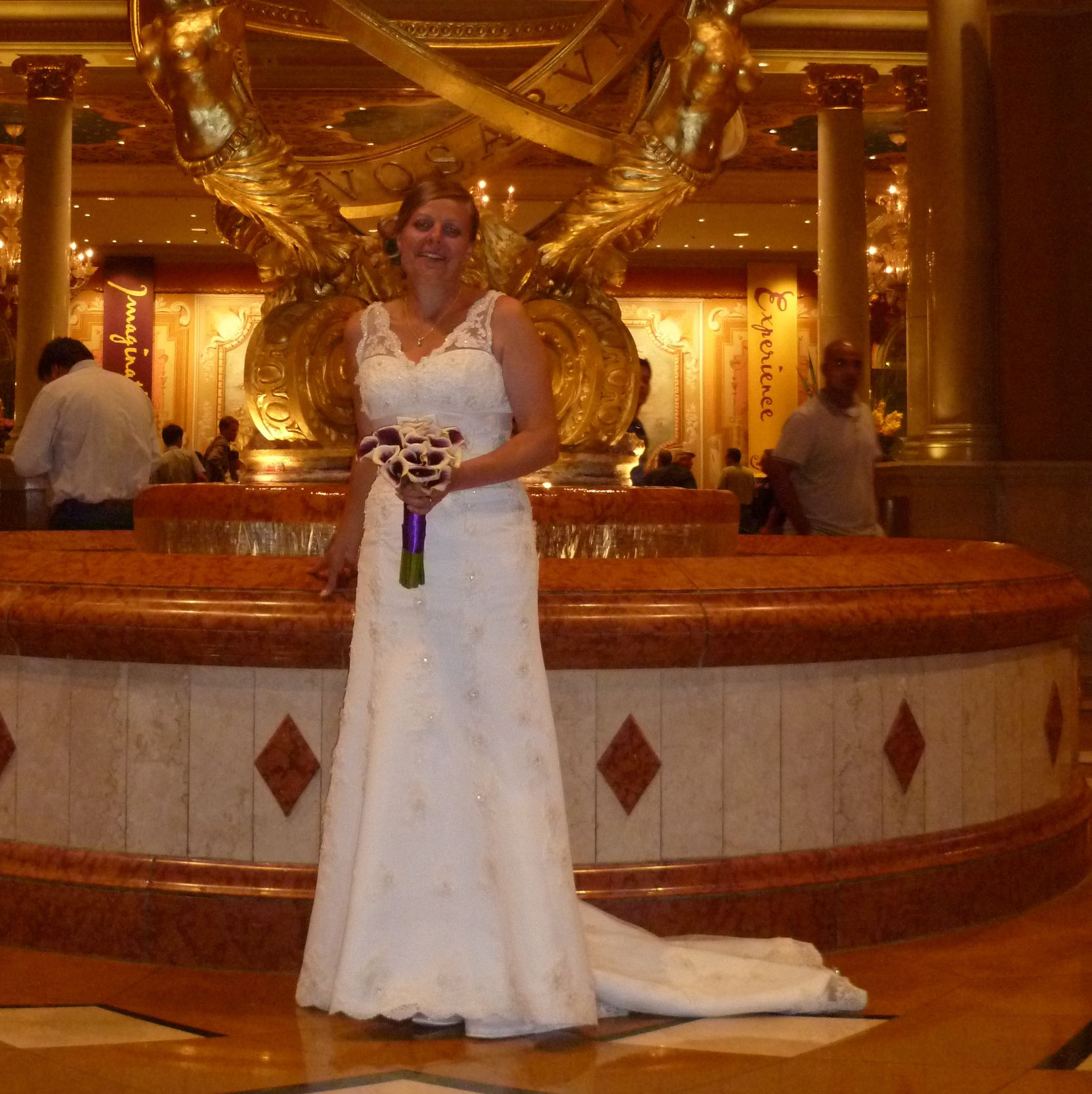 Simple Sam Photgraphed In The Venitian Las Vegas With Wedding Dress Shops
